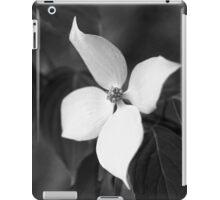 Dogwood Days in B&W iPad Case/Skin