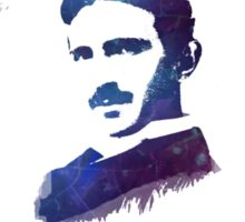 Nikola Tesla Patent Art Electric Arc Lamp Sticker