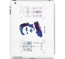 Nikola Tesla Patent Art Electric Arc Lamp iPad Case/Skin