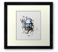 Mr. White Framed Print