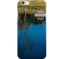 Beautiful day by the Pond in Russian River Valley iPhone Case/Skin