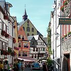 Bernkastel, Germany, Old Town by worldtripper