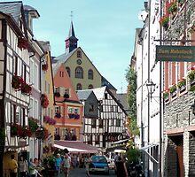 Bernkastel, Germany, Old Town by worldtripper