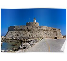 St Nicholas Fortress Poster