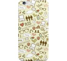 Social Media Icons iPhone Case/Skin