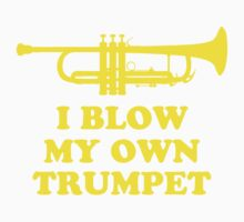 I blow my own trumpet by PawlS
