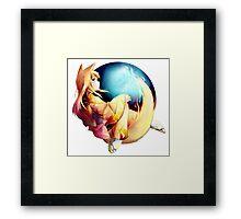 FIREFOX ULTIMATE Framed Print