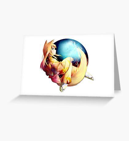 FIREFOX ULTIMATE Greeting Card