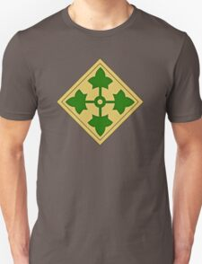 4th Infantry Division Unisex T-Shirt