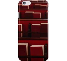 The Red Books iPhone Case/Skin