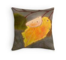 Beauty and Decline Throw Pillow
