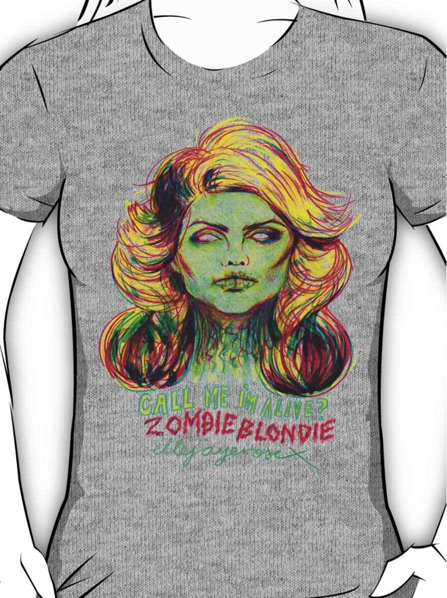 Zombie Blondie Women's or Unisex T-Shirt