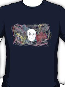 Mad crazy skull design T-Shirt