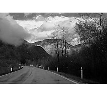 Moving toward a rainy day Photographic Print