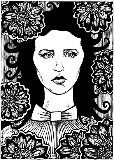 Black Dahlia by Anita Inverarity