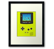 Nintendo Game Boy Super Mario Girly Framed Print
