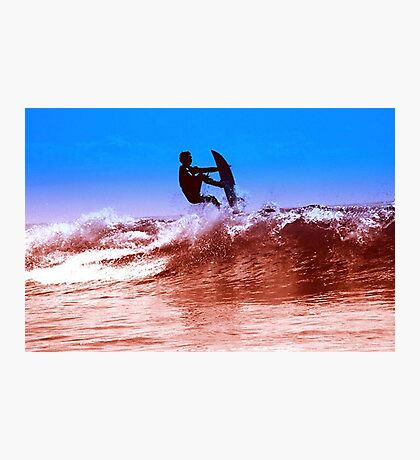 ALIEN SURFER Photographic Print