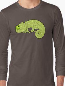 Polka Dot Chameleon Long Sleeve T-Shirt