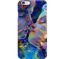 Eternal Love of Twin Flames iPhone Case/Skin