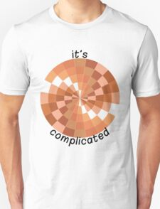 It's Complicated (with text) T-Shirt