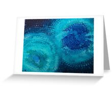 Equivalent Space original painting Greeting Card