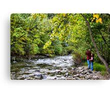 """Mad River Photographer"" Canvas Print"