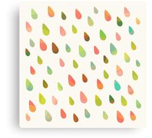 Opal Drops Canvas Print