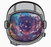 Space helmet One Piece - Short Sleeve