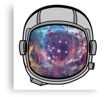 Space helmet Canvas Print