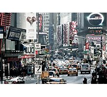 Time Square NY-City Photographic Print