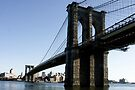 Brooklyn Bridge NY-City by Jean M. Laffitau