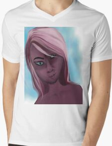 pink doll Mens V-Neck T-Shirt