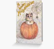 A Happy Hallowe'en Greeting Card