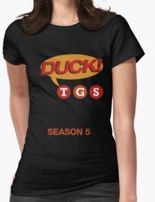 """30 Rock """"Duck!"""" T-shirt Womens Fitted T-Shirt"""