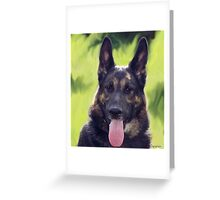 Dark shepherd Greeting Card