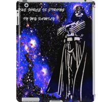 The Force Is Strong In My Family iPad Case/Skin