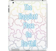 Happiest Place on Earth! iPad Case/Skin