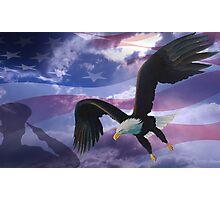 Patriot eagle Photographic Print