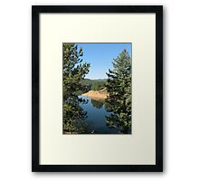 Lake by Nederland CO Framed Print