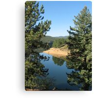 Lake by Nederland CO Canvas Print
