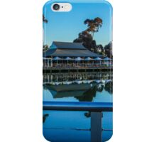 Reflections at the Lake Weeroona Boardwalk iPhone Case/Skin