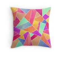 Colorful Stone Throw Pillow