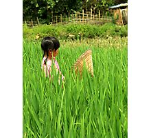 Vietnamese girl Photographic Print