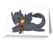 How to train your dragon [Ultimate] Greeting Card