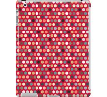 urban spot red iPad Case/Skin