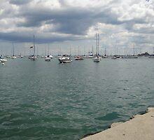 Lake Michigan, Chicago, IL 02 by whitehouse