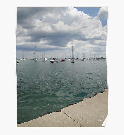 Lake Michigan, Chicago, IL 02 Poster