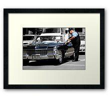 Cadillacs, Cops, & Chicago Framed Print