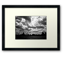 Lake Michigan, Chicago, IL .01 Framed Print