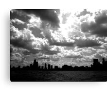 Lake Michigan, Chicago, IL .01 Canvas Print